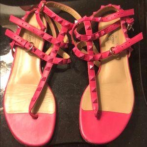 Valentine hot pink gladiator sandals size 39
